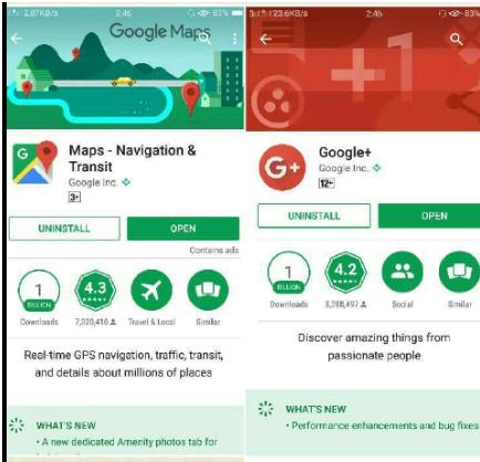 Google Location sharing App Download